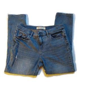 Gap Best Girlfriend Mid Rise Jeans Light Wash 30